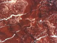 Detallo técnico: ROSSO AGADIR, mármol natural pulido