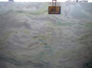 Detallo técnico: Madreperola, mármol natural pulido brasileño