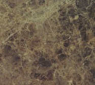 Detallo técnico: MARRÓN DARK, mármol natural pulido español