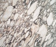 Detallo técnico: CALACATTA GREEN VIOLET, mármol natural pulido italiano