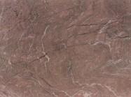 Detallo técnico: ROSSO RUBINO, mármol natural pulido italiano