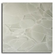 Detallo técnico: ASH WHITE, vidrio reciclado pulido chino