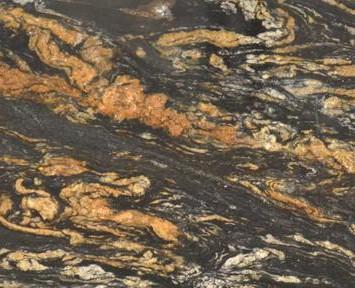 BLACK VULCON granito natural